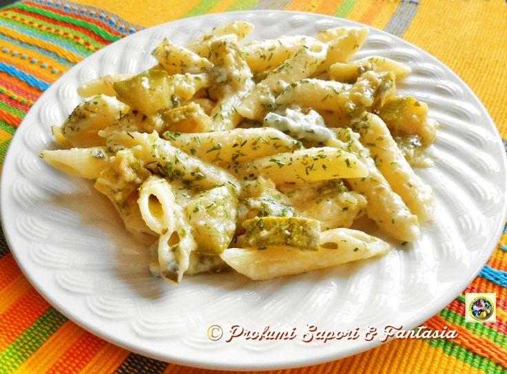 Pasta con zucchine e gorgonzola  Blog Profumi Sapori & Fantasia