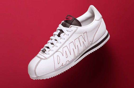 Official Images: Nike Cortez Kenny 1 DAMN         Last month we found out that Kendrick Lamar and Nike would be releasing their first official collaboration together in the form of a new color... http://drwong.live/sneakers/nike-cortez-kenny-1-damn-official-images/