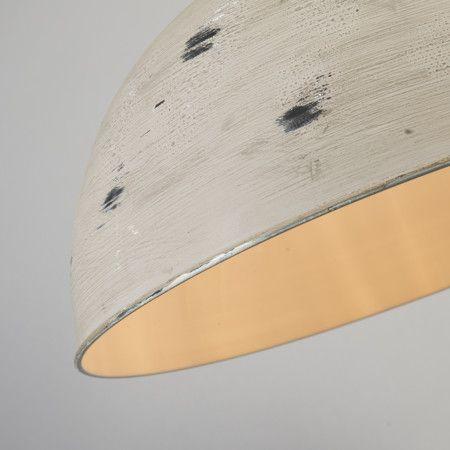 Lampa wisząca Rust XL szara