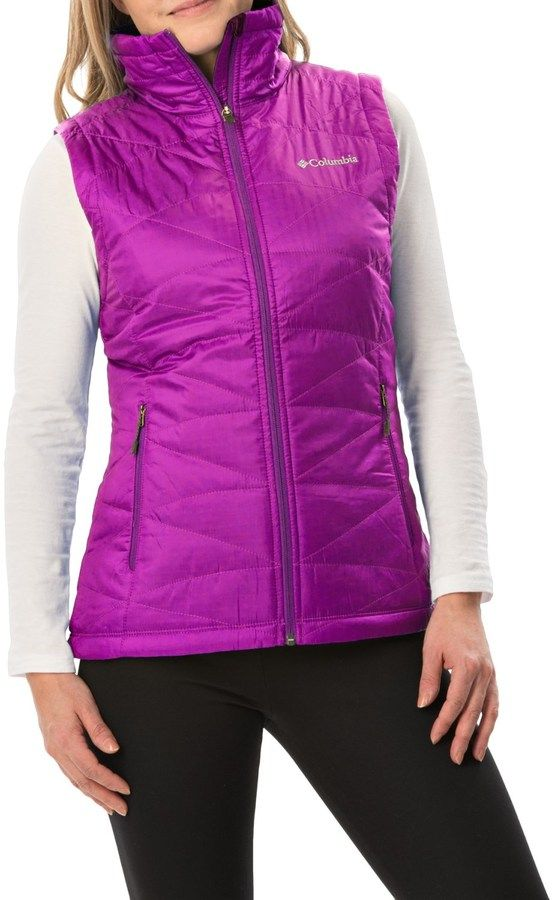 Columbia Mighty Lite III Vest - Omni-Heat®, Insulated (For Women)