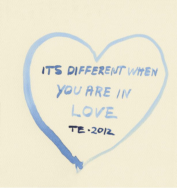 Tracey Emin being honest for Stylist Magazine