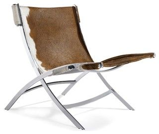 Superior Cowhide PK22 Style Easy Chair   Modern   Armchairs   By Advanced Interior  Designs Ideas