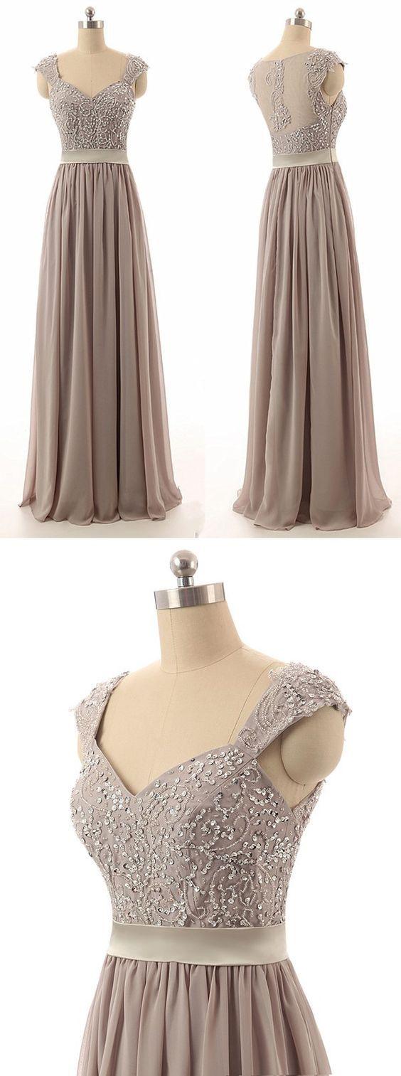 grey chiffon prom dress                                                                                                                                                                                 More