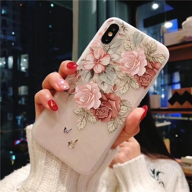 Pin By S Y On Phones Cases Flower Phone Case Floral Iphone Case Floral Phone Case Apps iphone iphone plus flowers