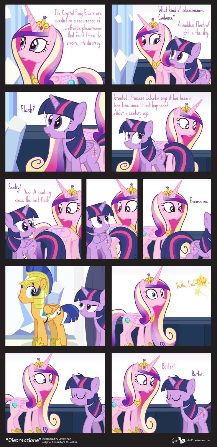 Comic Block: Distractions by dm29 on deviantART