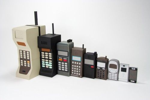Cell phones through the ages.: Technology, Mobiles Evolution, Cellphones, Cell Phones, Phones Evolution, Nests Dolls, Things, Matryoshka Dolls, Mobiles Phones