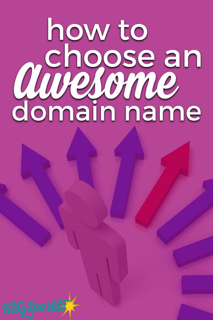 choose domain name your blog