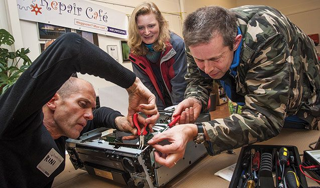 Repair Café : jeter ? Pas question !