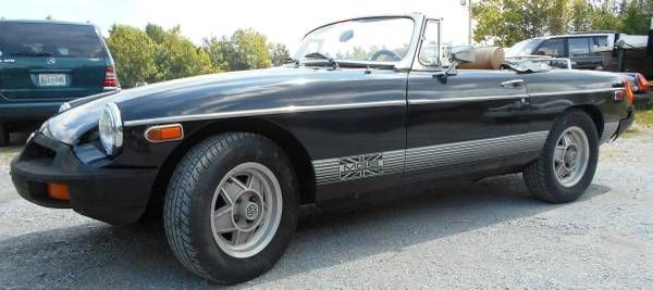 1980 MGB Limited Edition W/Overdrive - $6,995 Knoxville ...
