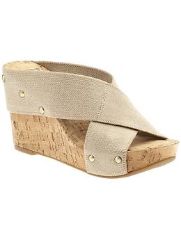 Lucky Brand wedges.  Saw these at Dillard's and I want them sooo bad! Super cute on. $80