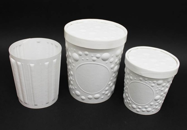 Fibreform Embossed Sleeves and Lids