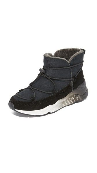Ash Mitsouko Shearling Sneaker Booties