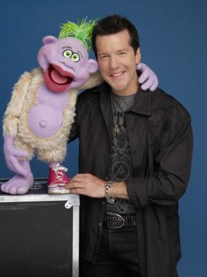 Jeff Dunham on the Jeff Dunham show - Photo by Richard Mclaren/courtesy Comedy Central