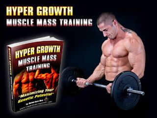 "Hyper Growth Muscle Mass Training – Muscle Growth Building. ""Unleash The ""Muscle Freak"" Within Every Hardgainer Utilizing Secret Russian Techniques, Discovered By A Genetically Average Joe…. That Packed On ""Slabs Of Lean Muscle"" So Fast His Arms Grew by 2-Inches While Gaining 23 LBS Of Muscle Mass In Only 11-Weeks!"