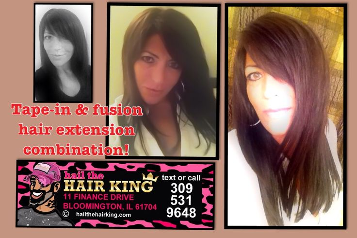 18 Fusion Hair Extensions By Bloomington Normals Expert Hair