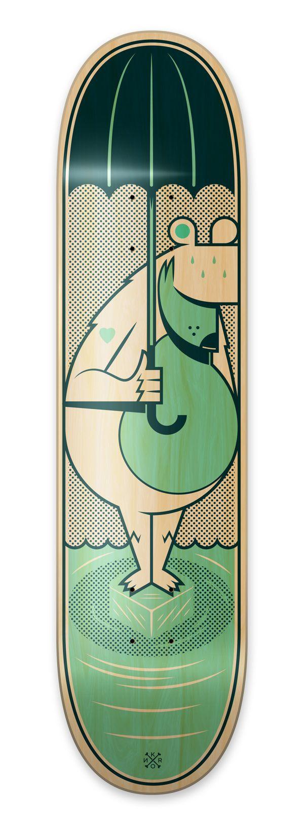 """""""The Saddest Summer Ever"""" Bordo Bello skateboards 2012 by Kronk , via Behance"""