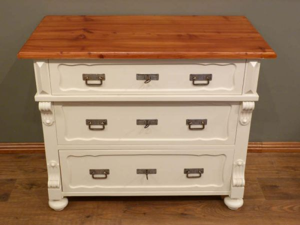 gr nderzeit kommode l rche wei lasiert um 1880 antike m bel antique furniture pinterest. Black Bedroom Furniture Sets. Home Design Ideas