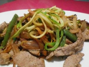 Veal with vegetables - Ternera con verduras