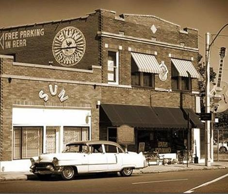 Sun Records is a landmark.  Some people credit it with being the birthplace of Rock.  I need to visit this place before I die.