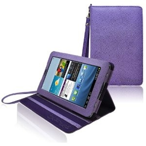 CrazyOnDigital Kit is basic protective items, it containt Tab 2 Leather Case, Wall Charger AC Adapter,  Car Charger DC Adapter , USB Data Cable, Ear Phones, Anti Glare Screen Protector. All items use for Samsung Galaxy Tab 2. This kit is all that equipment have to your Tab 2.