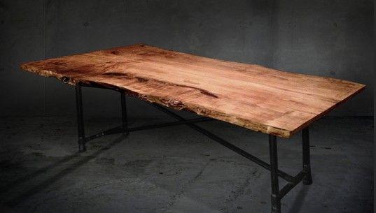 Fallen Industry Furniture, built from 100 percent reclaimed fallen trees