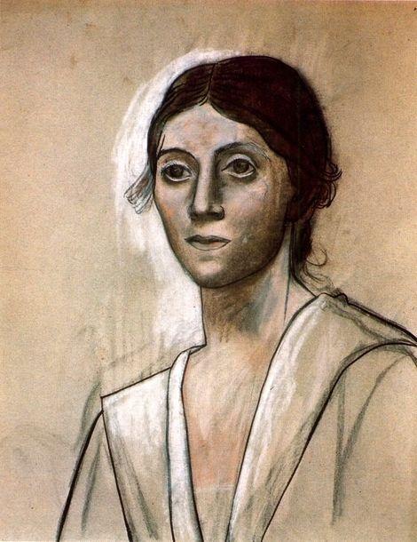 Pablo Picasso, 1921 Portrait d'Olga 2