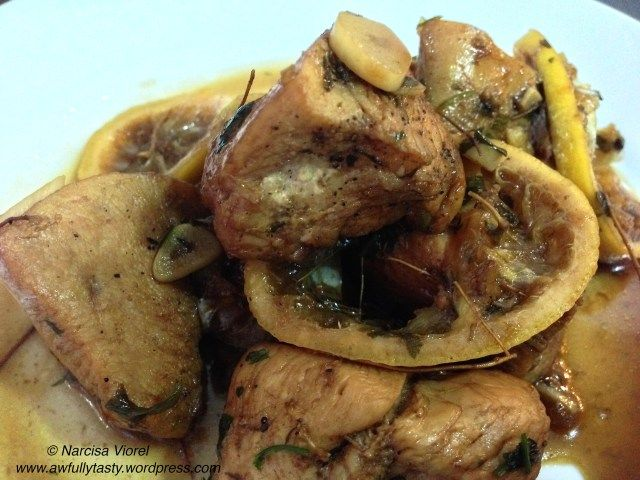 Lemon and soy chicken breast. Gordon Ramsey recipe.