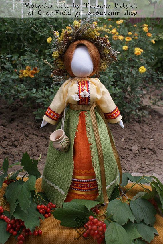 Ukrainian doll  Motanka by GrainField on Etsy