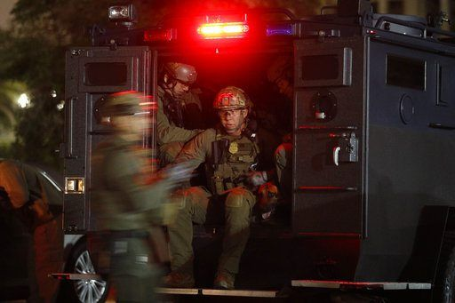 LOS ANGELES/May 17, 2017 (AP)(STL.News) — Hundreds of federal and local law enforcement fanned out across Los Angeles in pre-dawn sweeps, serving arrest and search warrants as part of a three-year investigation into the ultra-violent street gang MS...