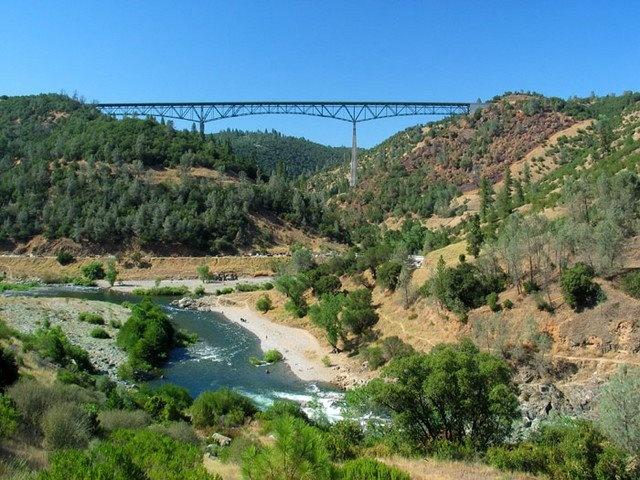 Foresthill Bridge/American River