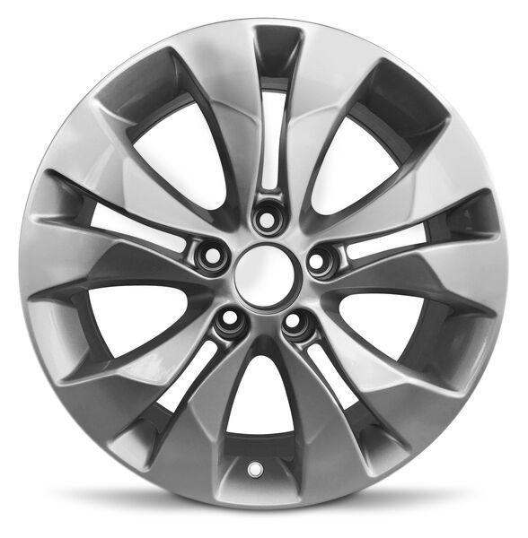 Road Ready 17 Alloy Wheel Rim For 2012 2014 Honda Cr V 17x6 5 Inch Silver 5 Lug Walmart Com Honda Cr Alloy Wheel Alloy Wheel Rim