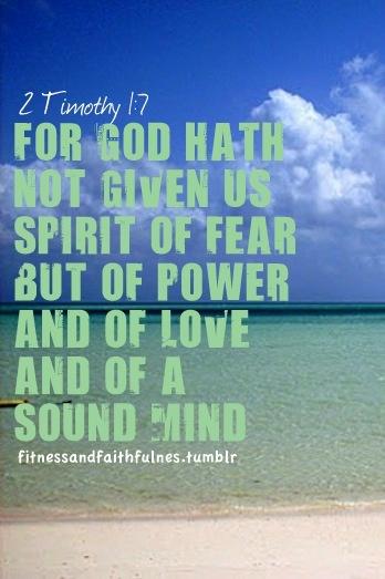 2 Timothy 1:7: God Inspiration, God Words, Reading God, Salvation Verses, Fear Www Facebook Com, Fav Quotes, Bible Verses, Quotes Prints, No Fear