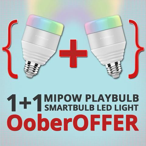 Check out this #OoberOffer - Pack of 2 #Mipow BTL201 Playbulb #smartLED light at an awesome #discount. Hurry, offer is for #limitedstocks only. https://www.ooberpad.com/products/mipow-btl201-playbulb-smartbulb-led-light-1-1-pack-offer-10-off | #pin #pleasepin #pinit #share #repin #deals #sale #bestbuy #bargains #offer