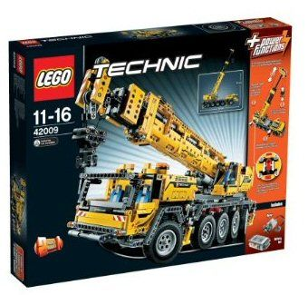 Build The Mobile Crane MK II With Over Pieces, Steering, Rotating  Superstructure And LEGO® Power Functions!