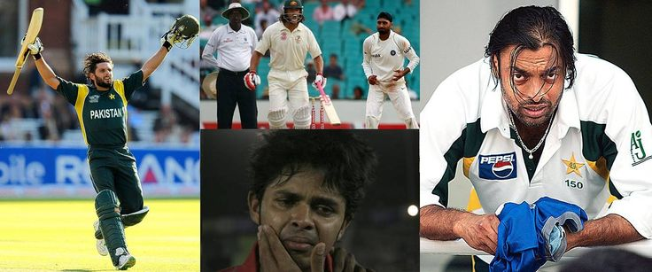 Top #ControversialCricketers Cricket the gentleman's game has been involved in many controversies. Here we list the top 10 most controversial #cricketers who put a shame to this gentleman's game.