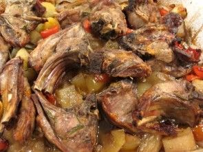 Cooking with GIuseppe - Capretto alla Napoletana
