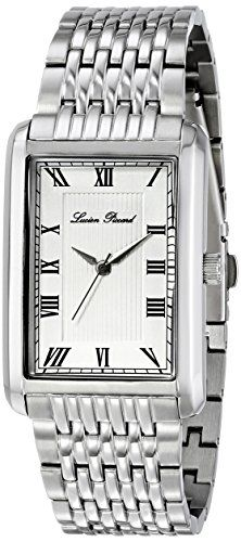 Men's Wrist Watches - Lucien Piccard Mens LP3001022S Avignon SilverTone Stainless Steel Watch with Link Bracelet * Check out the image by visiting the link.