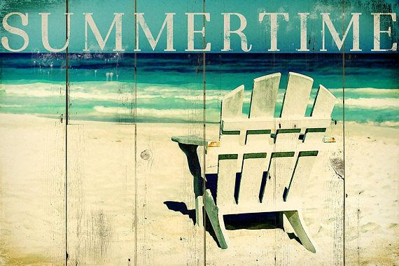 Summertime 2  Digital Download Art seaside travelling