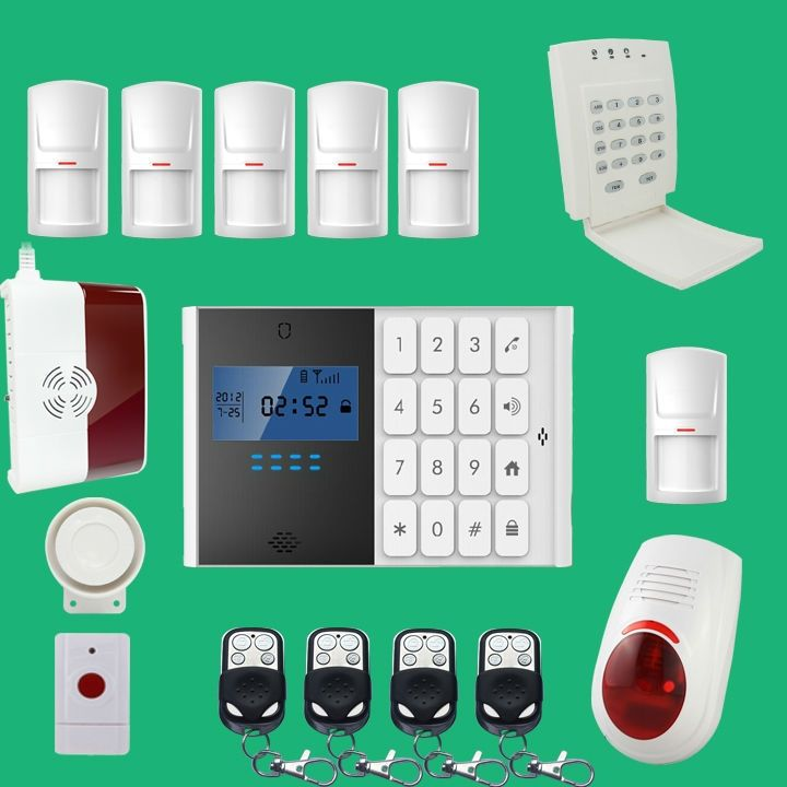 Total home security system project