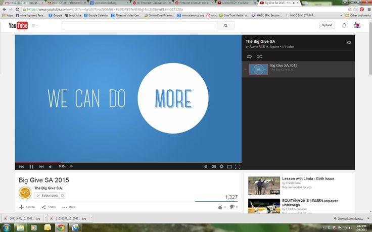Task #1   The Scavenger Hunt The Big Give SA  YouTube