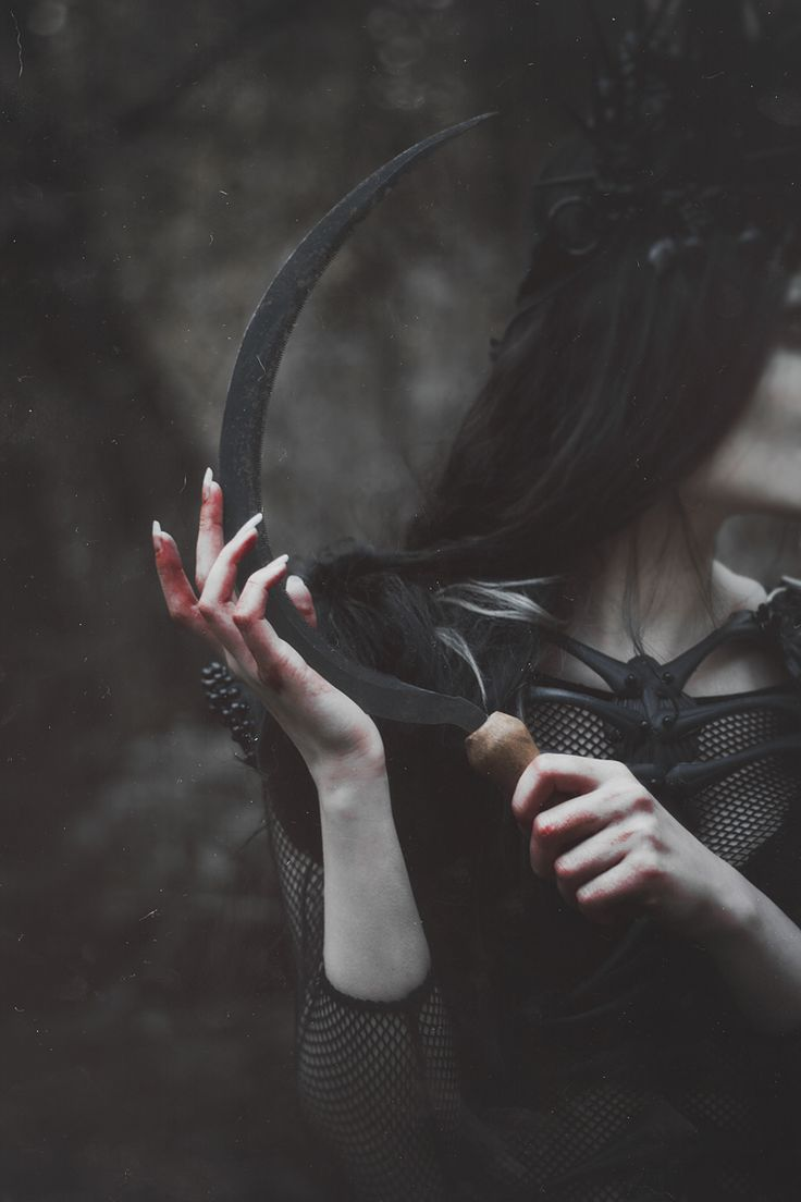 "nataliadrepina: ""Model: @jennydagon Costume Designer: Agnieszka Osipa Autumn dies… Her body and spirit wither like fallen leaves. Her trembling hands keep the vial filled with blood drops of birds..."