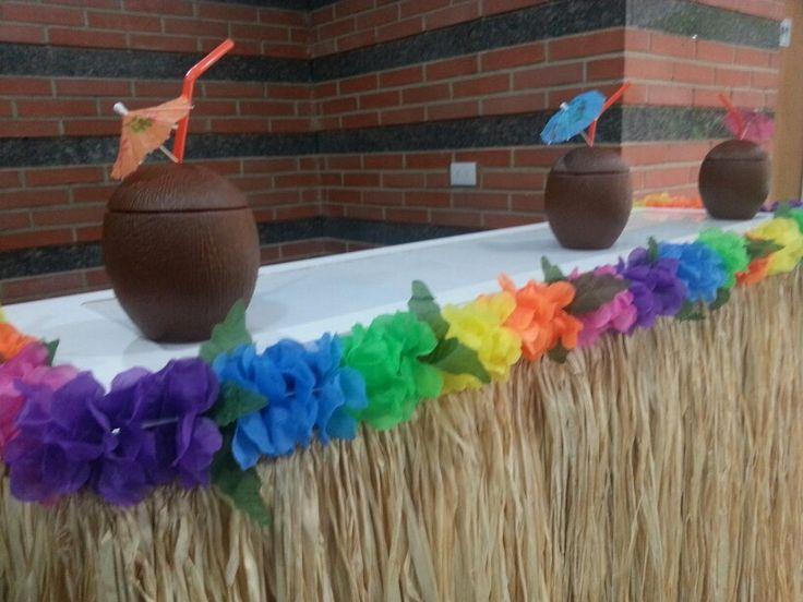 Fiesta Hawaiana Deco Eventos Pinterest Fiestas