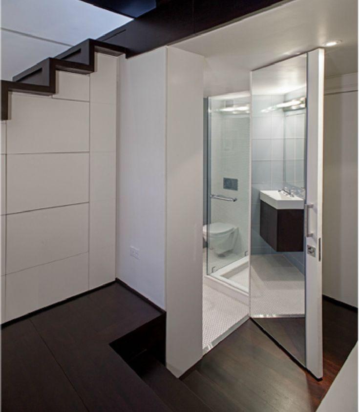 Splendid 425-Square-Foot Apartment: Manhattan Micro-Loft, New York by Specht Harpman Architects http://patriciaalberca.blogspot.com.es/