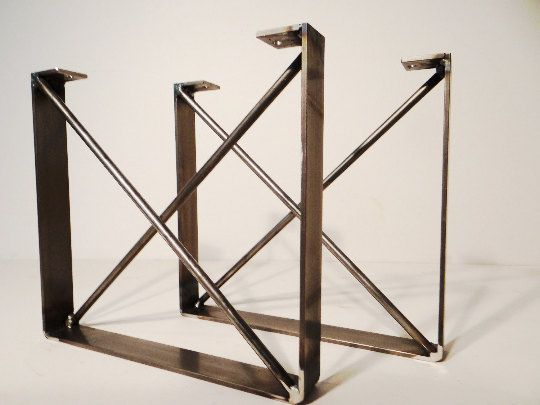 He encontrado este interesante anuncio de Etsy en https://www.etsy.com/es/listing/247890052/set-of-2-metal-dining-table-legs-u
