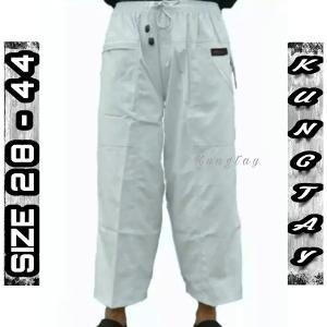 Sirwal Size Super Big Jumbo  Hitam Coklat Hijau Cream Navy Pangsi Ukuran XXXXL Black Brown Green Blue Warna Celana Pendek Pria KJK111