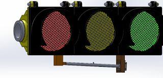 Piezoelectric Nature Energy for Traffic Light by WahyuSa (Energi Alam Piezoelectric untuk Lampu lalu lintas by WahyuSa)