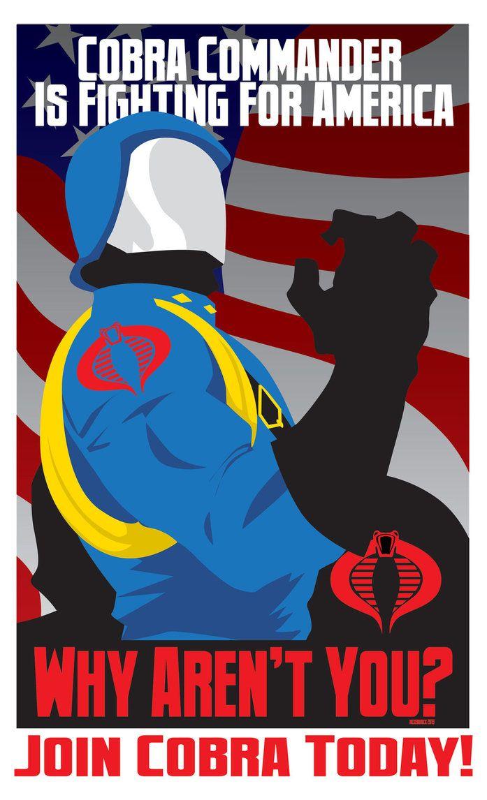 Cobra - propaganda poster - G.I. Joe - CuddleswithCats.deviantart.com