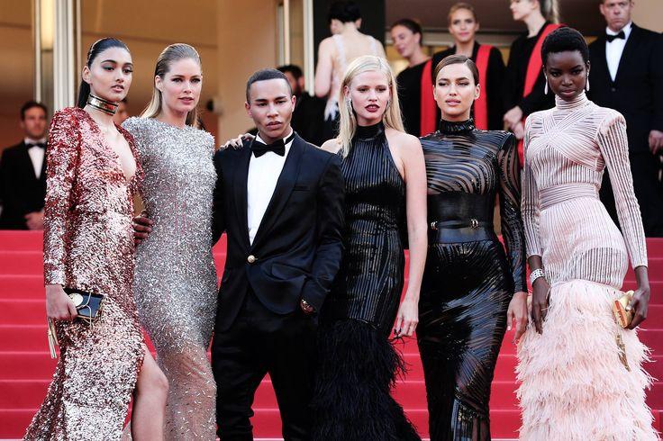 Balmain | Takes Cannes x L'Oréal #Balmain #Cannes #Film #Festival #LOreal