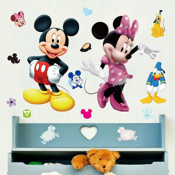 Mickey Mouse & Minnie Mouse with Donald Duck and by AnotherHabit