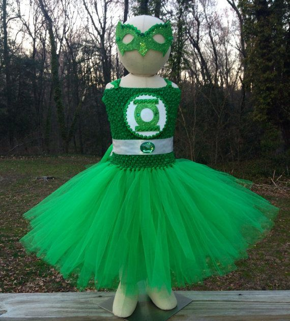 88 of the Best DIY No-Sew Tutu Costumes - DIY for Life  Green Lantern